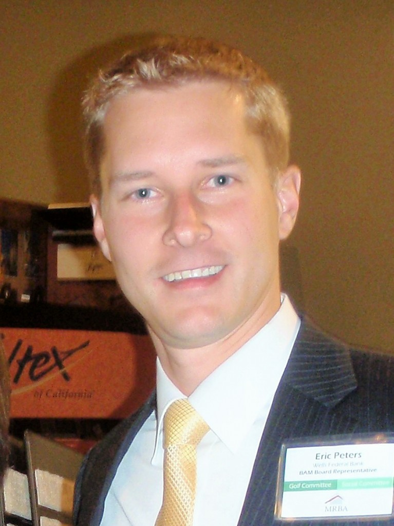 Eric Peters, Wells Federal Bank